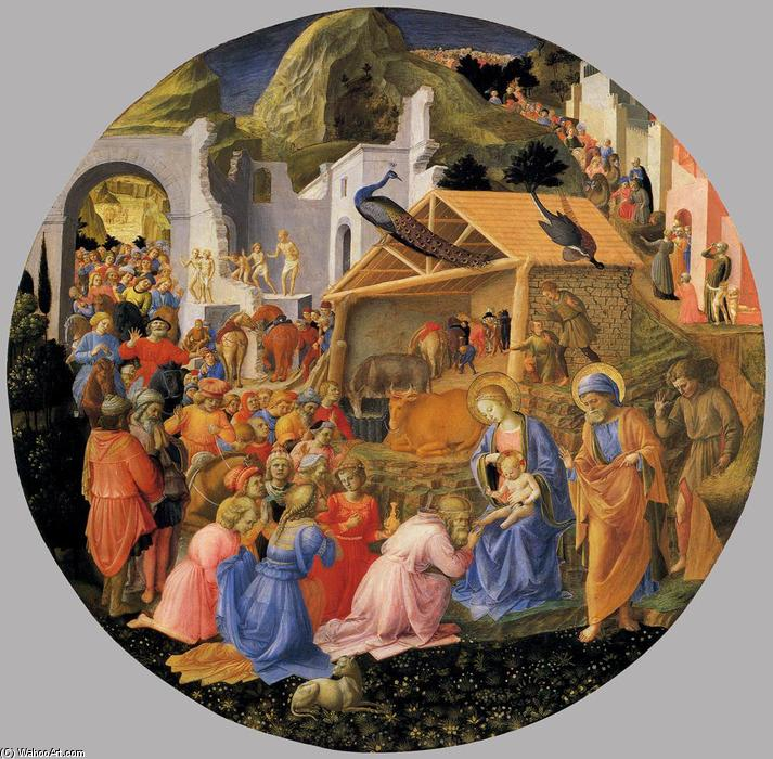 The Adoration of Magi by Fra Angelico