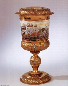 Nicolaas Loockemans - Covered goblet