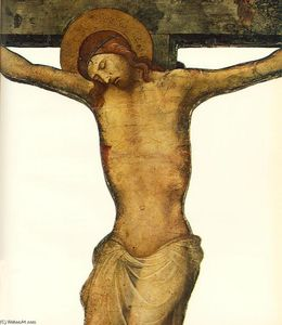 Lorenzo Monaco - Cut-out Crucifix (detail)