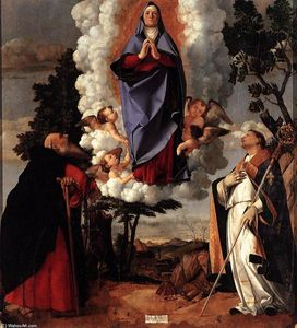 Lorenzo Lotto - Assumption of the Virgin