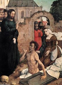 Juan De Flandes - The Raising of Lazarus