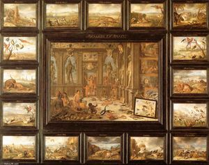 Jan Van Kessel - The Continent of America