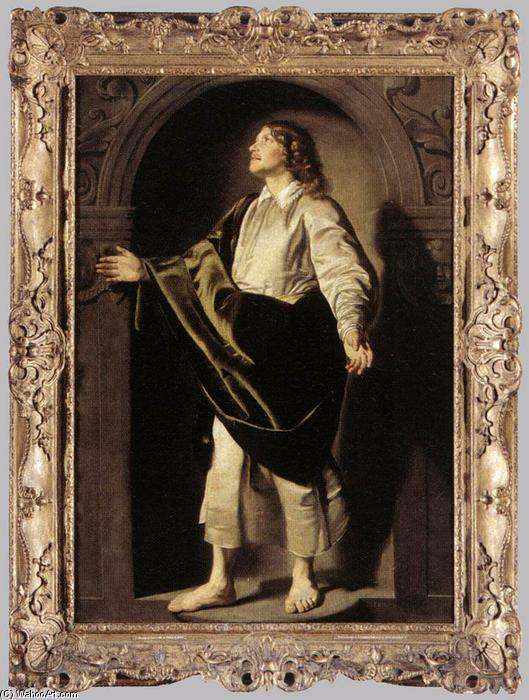Order Art Reproductions | Apostle St John, 1630 by Thomas De Keyser (1596-1667, Netherlands) | WahooArt.com