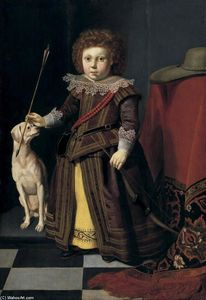 Thomas De Keyser - Portrait of a Young Boy