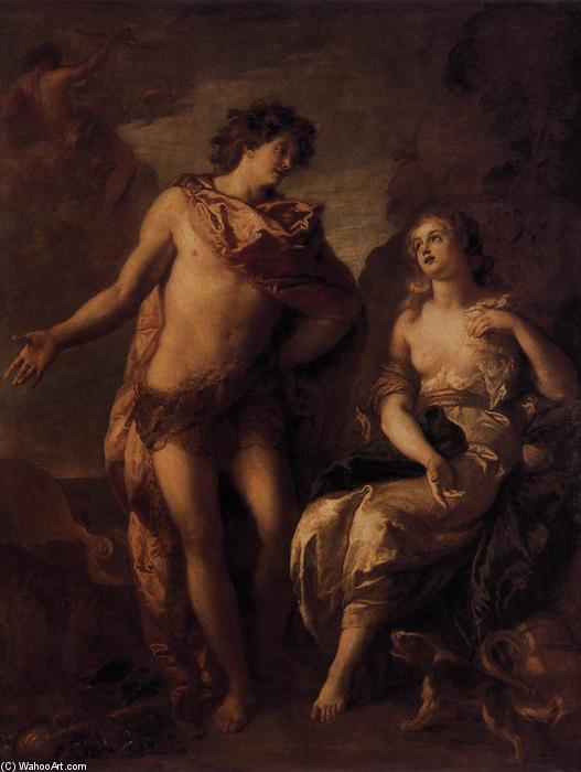 Bacchus and Ariadne, 1699 by Charles De La Fosse (1636-1716, France) | WahooArt.com