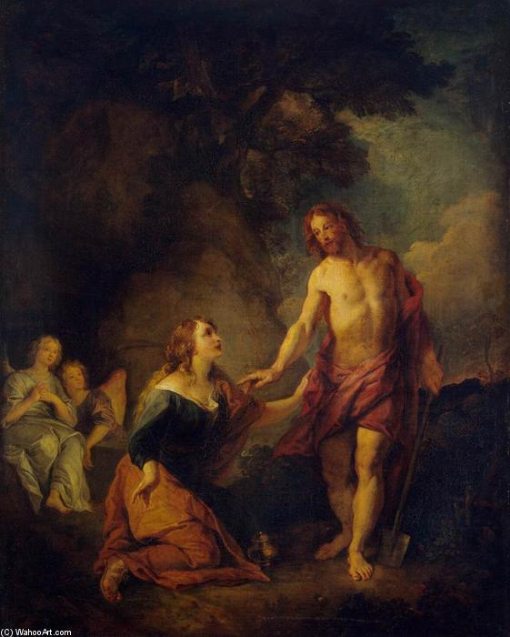 Christ Appearing to Mary Magdalene, 1680 by Charles De La Fosse (1636-1716, France) | Museum Quality Reproductions | WahooArt.com