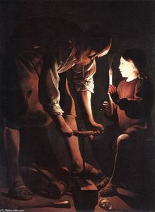 Georges De La Tour - Christ in the Carpenter's Shop