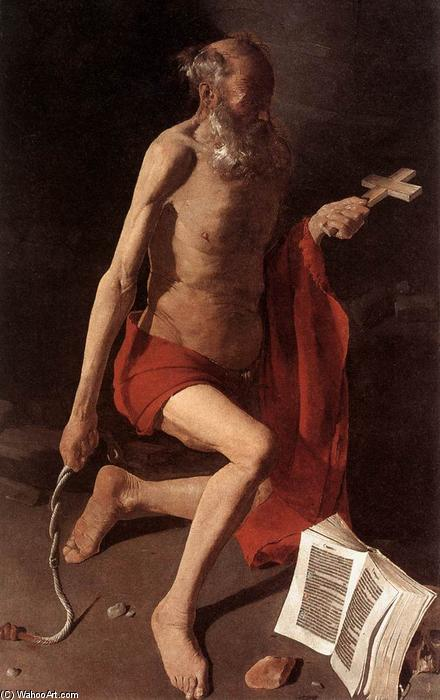 St Jerome, Oil On Canvas by Georges De La Tour (1593-1652, France)