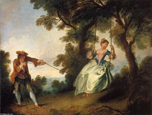 Nicolas Lancret - The Swing