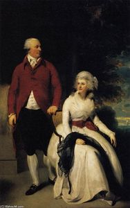 Thomas Lawrence - Mr and Mrs John Julius Angerstein