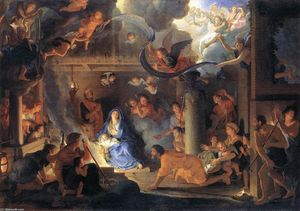 Charles Le Brun - Adoration of the Shepherds