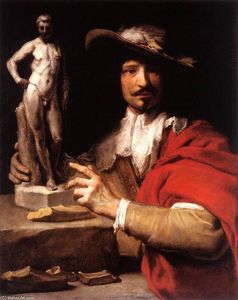 Charles Le Brun - Portrait of the Sculptor Nicolas Le Brun