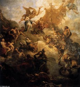 François Lemoyne - The Apotheosis of Hercules