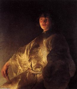 Jan Andrea Lievens - Young Man in a Yellow Robe