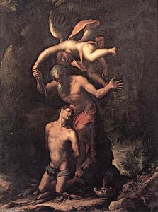 Jacopo Ligozzi - Sacrifice of Isaac