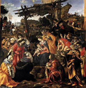 Filippino Lippi - Adoration of the Magi