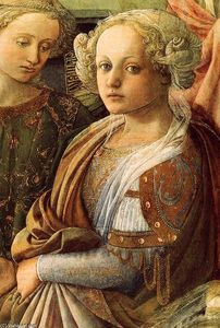Fra Filippo Lippi - Coronation of the Virgin (detail) (15)