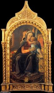 Fra Filippo Lippi - Madonna with Child (Tarquinia Madonna)
