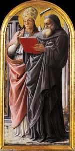 Fra Filippo Lippi - Sts Gregory and Jerome