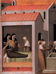 Pietro Lorenzetti - The Miracle of the Ice