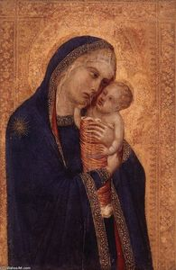 Pietro Lorenzetti - Virgin and Child