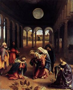 Lorenzo Lotto - Christ Taking Leave of his Mother