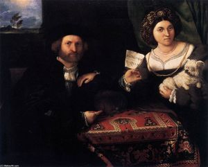 Lorenzo Lotto - Portrait of a Married Couple