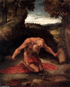 Lorenzo Lotto - St Jerome