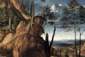 Lorenzo Lotto - St Jerome in the Wilderness (detail)