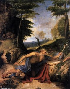 Lorenzo Lotto - The Penitent St Jerome
