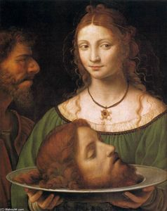 Bernardino Luini - Salome with the Head of John the Baptist
