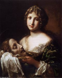 Onorio Marinari - Salome with the Head of the Baptist