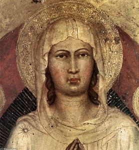 Martino Di Bartolommeo Di Biagio - Assumption of the Virgin (detail)