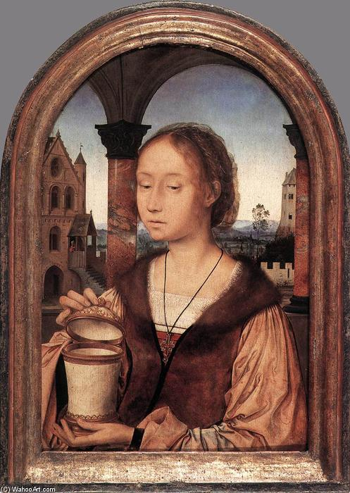 St Mary Magdalene, Oil On Panel by Quentin Massys (1466-1530, Belgium)