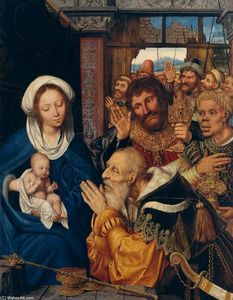 Quentin Massys - The Adoration of the Magi