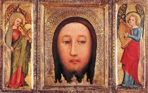 Master Bertram - Triptych: The Holy Visage of Christ