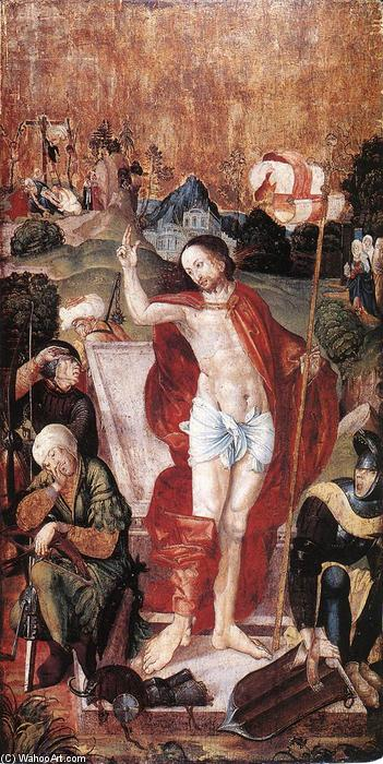 Order Art Reproduction : The Resurrection, 1506 by Master M S | WahooArt.com