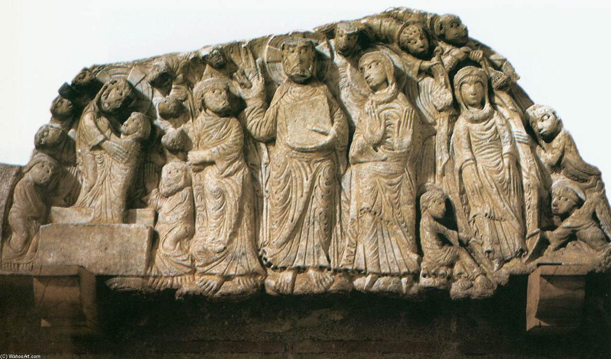 Tympanum, Stone by Master Of Cabestany (1130-1180, Italy)