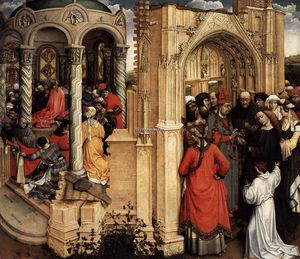 Robert Campin (Master Of Flemalle) - The Marriage of Mary