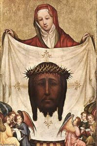 Master Of Saint Veronica - St. Veronica with the Holy Kerchief