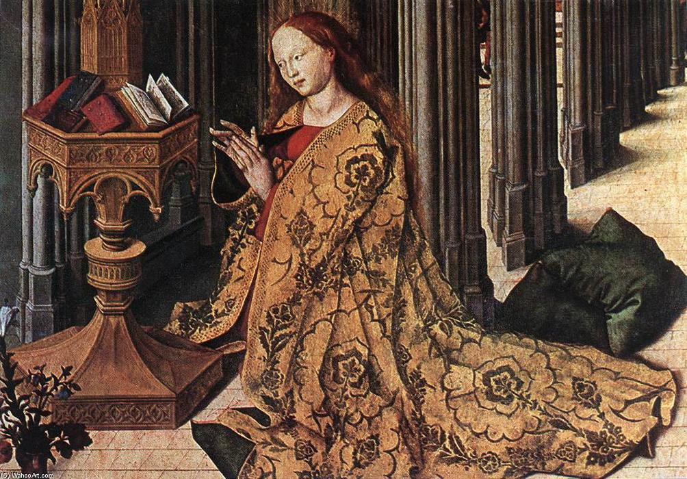 The Annunciation (detail), 1445 by Master Of The Aix Annunciation | Art Reproduction | WahooArt.com