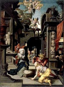Master Of The Lille Adoration - Adoration of Shepherds