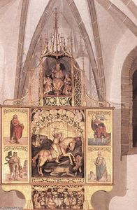 Master Paul Of Lõcse - High Altar of St George