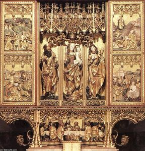 Master Paul Of Lõcse - High Altarpiece of St. James