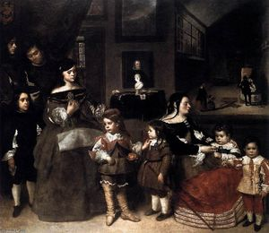 Juan Bautista Martinez Del Mazo - The Artist's Family