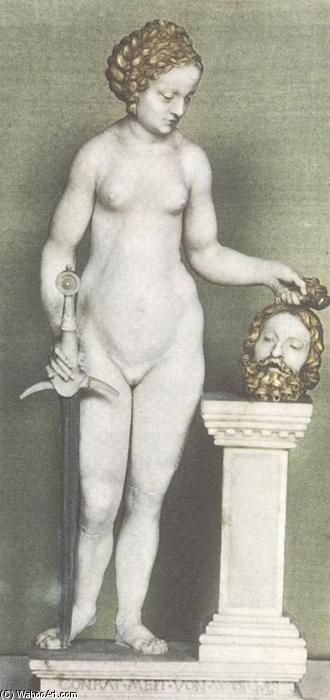 Judith, 1510 by Conrad Meit (1485-1551, Germany) | Museum Quality Reproductions | WahooArt.com