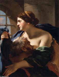 Order Museum Quality Copies | Roman Charity, 1627 by Charles Mellin (1597-1649, France) | WahooArt.com