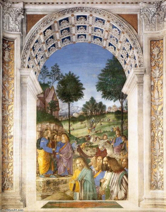 Christ 39 s entry into jerusalem frescoes by melozzo da for Casa italia forli