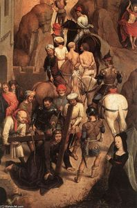 Hans Memling - Scenes from the Passion of Christ (detail) (13)