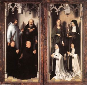 Hans Memling - St John Altarpiece (closed)